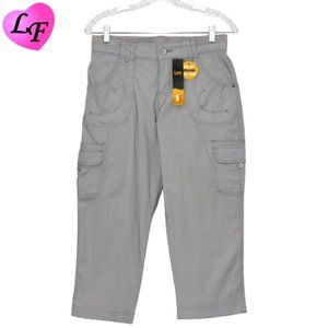 LEE Relaxed Fit Stretch Capri with Pockets